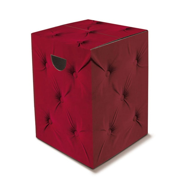 Royal Cardboard Stool design inspiration on Fab.