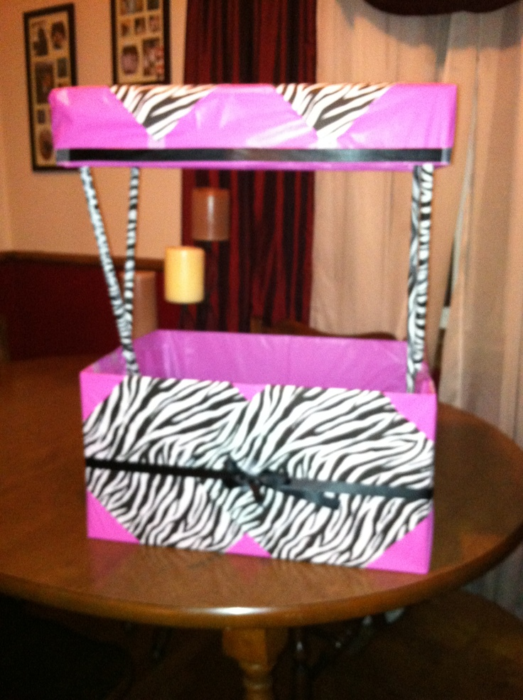 baby shower wishing well zebra themed jpt 39 s baby shower pinterest
