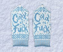 Ravelry: How Cold Is It? pattern by Drunk Girl Designs I think the people in Buffalo, NY would agree about now!!