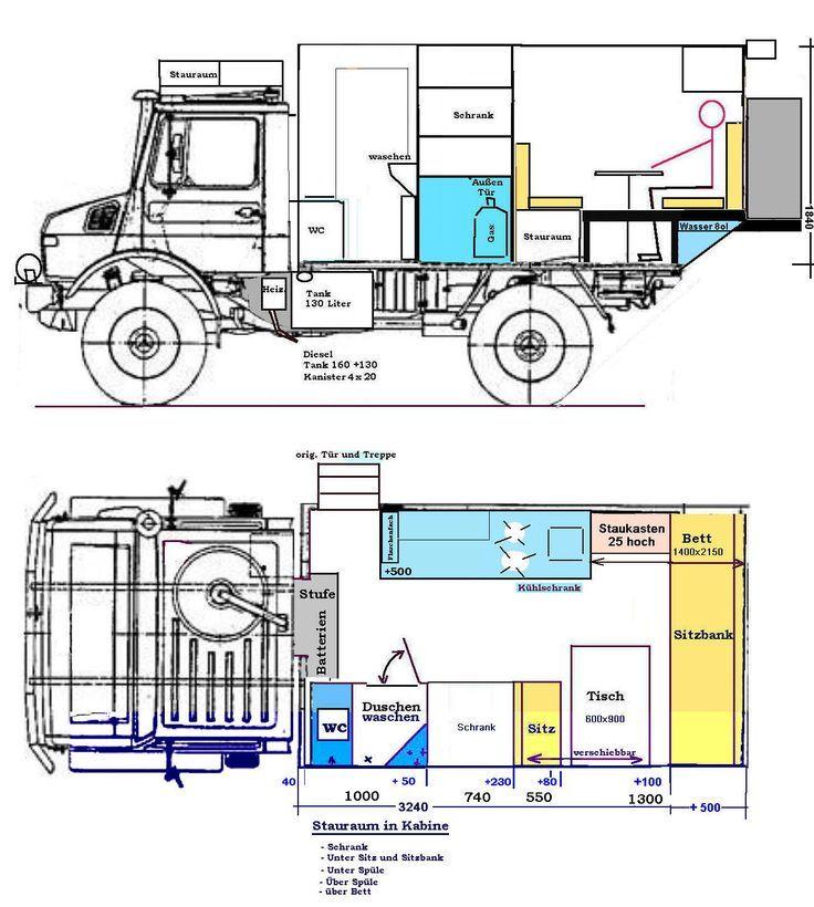112 best images about camper back portal trucks unimog 435 u1300l ambulance camper conversion after