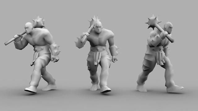 This was an animation test I did for Blizzard. I was given a week to create a walk, run, attack and death animations. The animations had to be smooth and convincing with plenty of weight and appropriate character. The movements should be fluid yet punchy with plenty of dynamic power (particularly in the attack animation).  Animated in Maya  Rig provided by Blizzard Animation by Shane Oakes - http://saoakes.blogspot.com Audio by Alexandre Saba - http://thefadein.wordpress.com