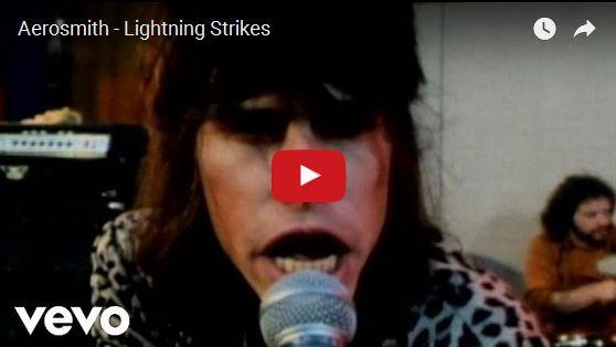 Watch: Aerosmith - Lightning Strikes See lyrics here: http://aerosmithlyric.blogspot.com/2010/03/lightning-strikes-aerosmith-lyrics.html #lyricsdome