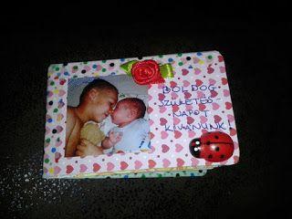 mini card album