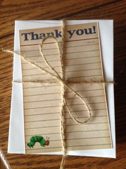 custom thank you cards for the mom to be
