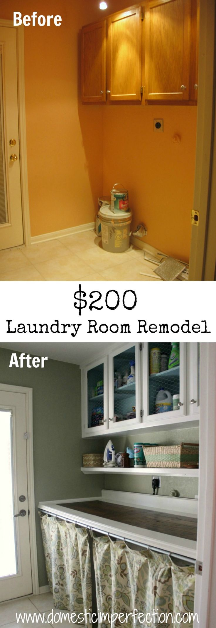 Great ideas for remodeling on a budget and using what you have