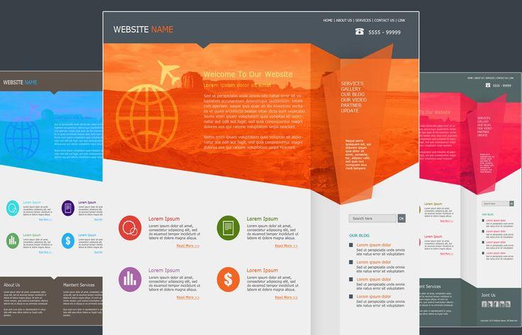 Photoshop Tutorial Web Design Flat Style