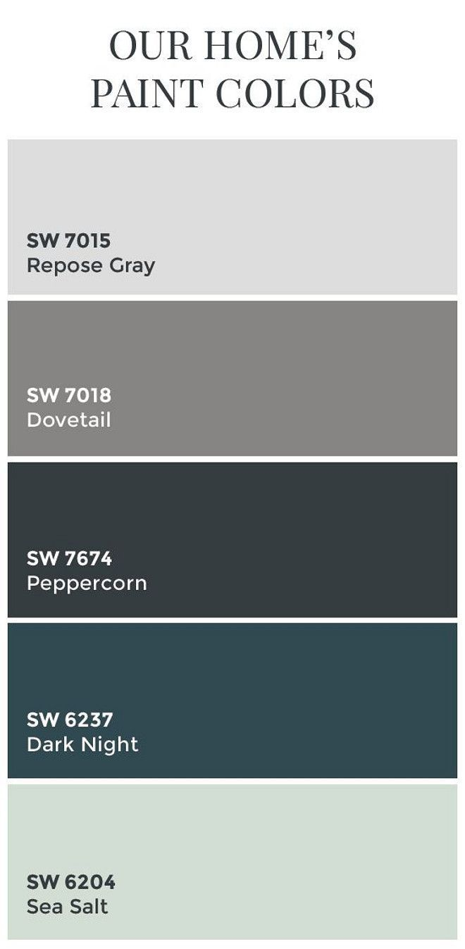 Interior Design Color Palettes 2258 best paint: whole house color palette images on pinterest