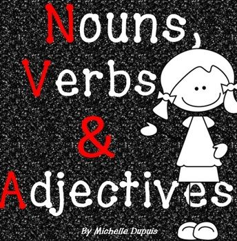 These activities will help your students identify, write and sort Nouns, Adjectives and Verbs.