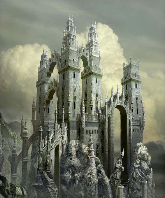 25 best ideas about fantasy castle on pinterest fantasy for Architecture fantastique