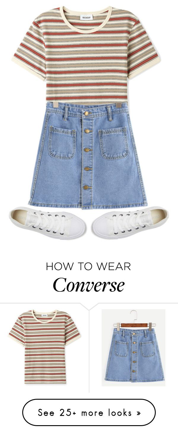 """"""""""" by sydthekyd01 on Polyvore featuring Converse"""
