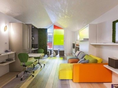 Tiny Model Apartment Is Full Of Transformer Furniture