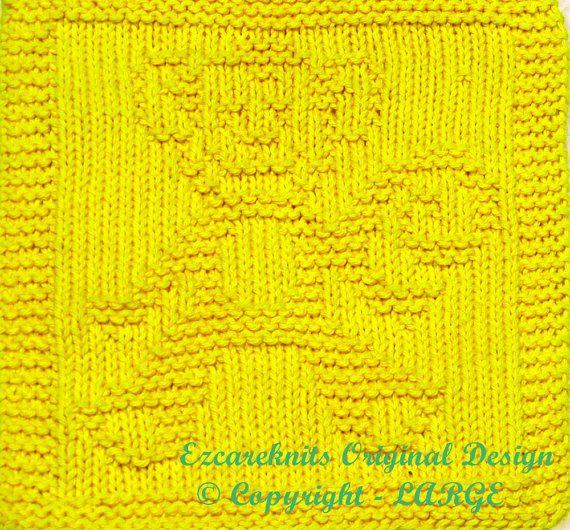 Knitting Cloth Pattern  TOY MONKEY  PDF by ezcareknits on Etsy