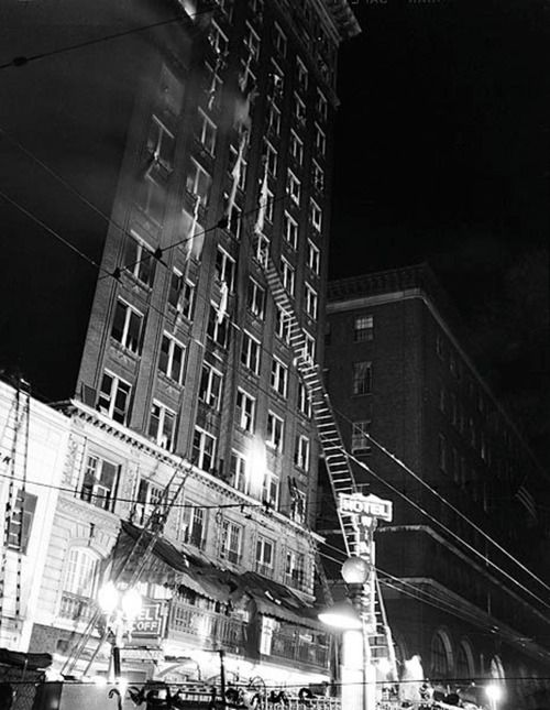 winecoff hotel fire The winecoff hotel fire of december 7, 1946, was the deadliest hotel fire in united states history, killing 119 hotel occupants, including the hotel's owners located at 176 peachtree street in downtown atlanta , georgia, united states, the winecoff hotel was advertised as absolutely fireproof.