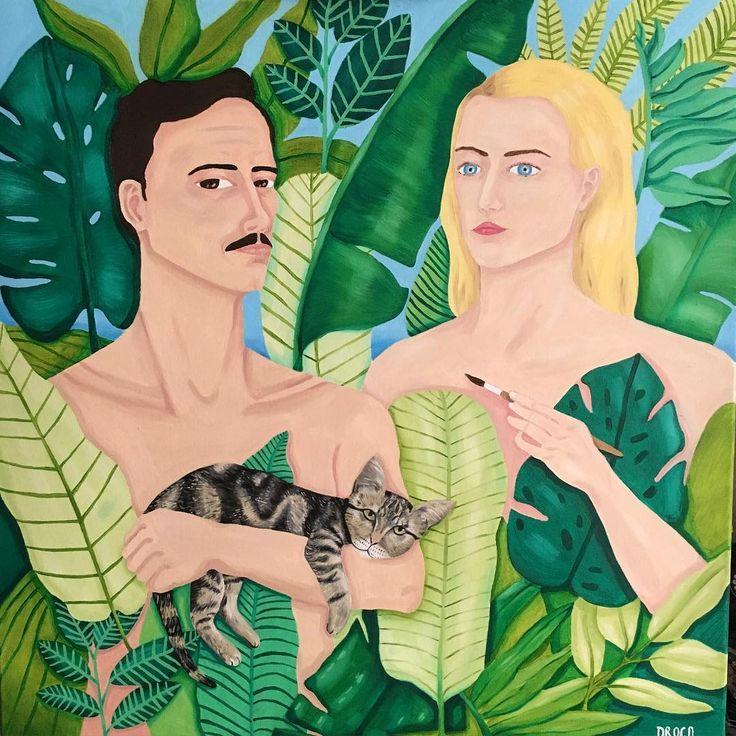 Caroline Drogo Oil painting / Portrait