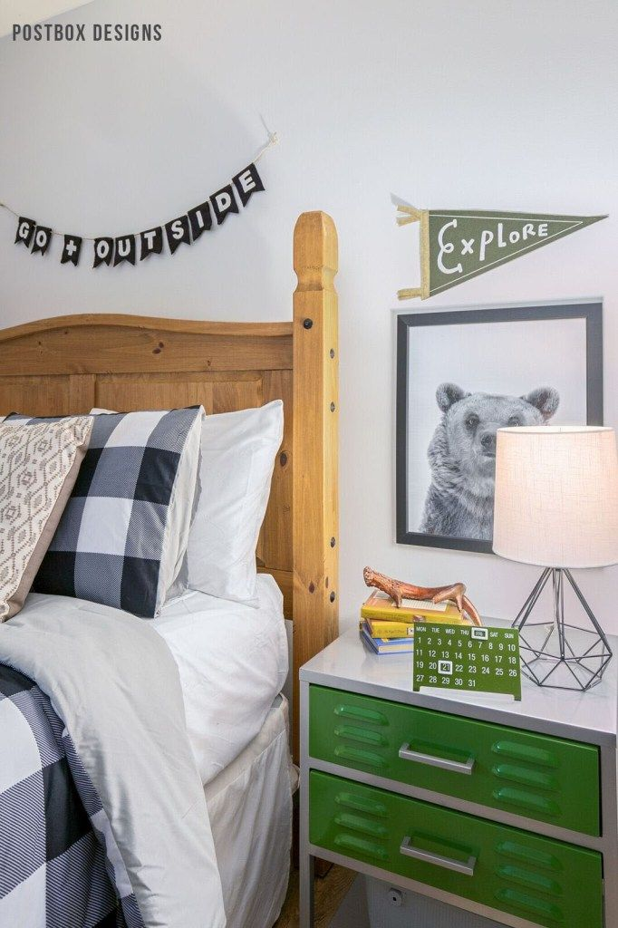 Postbox Designs Boyu0027s Adventure Bedroom Makeover