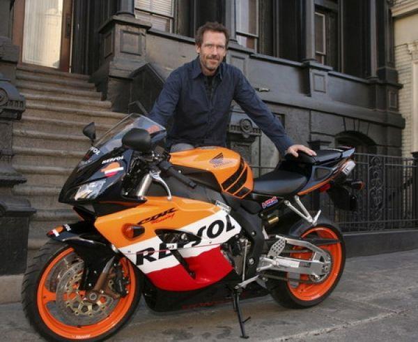 Honda CBR1000RR Repsol Replica + Hugh Laurie (Dr House)