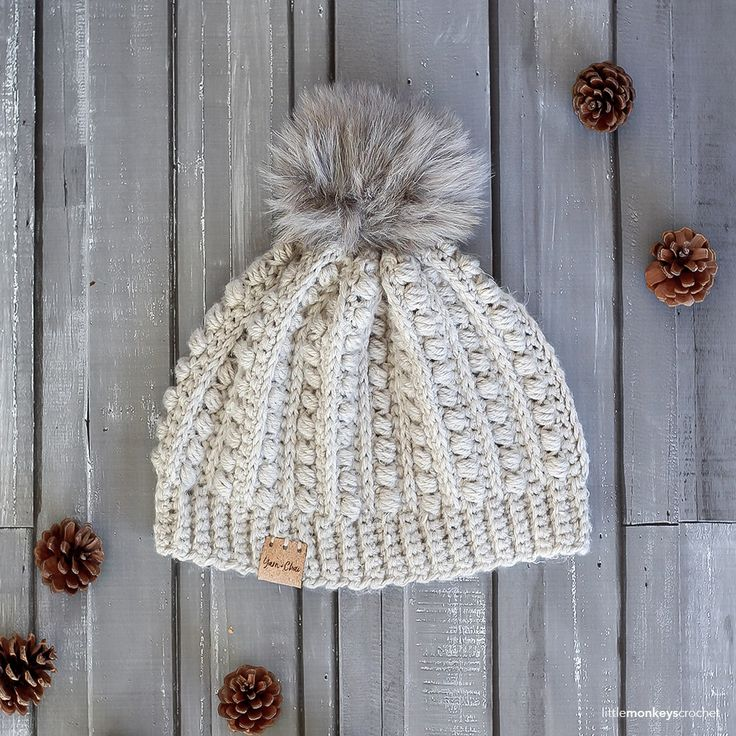 This pattern is part of the Fall 2017 Malia CAL (Crochet-Along). To view the other patterns in this collection (including a slouchy hat, infinity scarf, and buttoned cowl), please visit the Malia CAL Homepage. Winter is coming, and that means... hat season! Ilove hat season, especially on s
