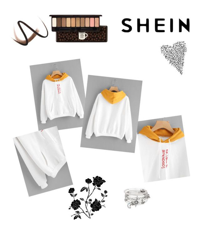 """""""Shein"""" by dorothysmile ❤ liked on Polyvore featuring Burberry, Alex and Ani and Etude House"""