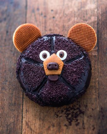"""Kuchen """"Bär"""" – Küche – #Küche #Kuchen #Keks Geburtstag # """"Bär …   – Beste Essen Recipes"""
