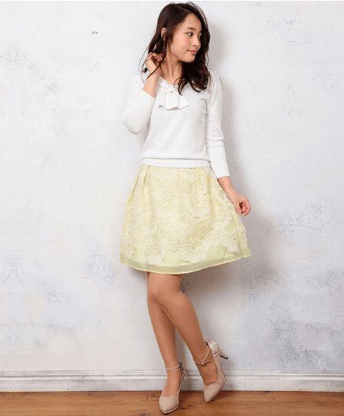 デートにも◎パステルカラーを上手につかってフェミニンに♪ 大学生スタイル ファッションのコーデまとめ♡