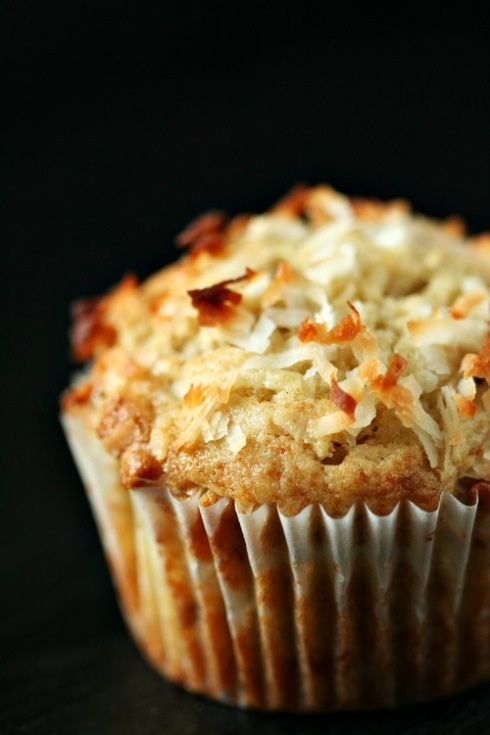 Banana Coconut Muffins {tested: best muffin recipe yet, my favorite}
