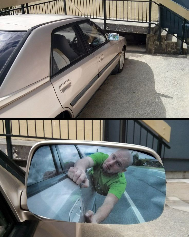 Funny Pictures About The Best Picture For A Car Side Mirror Oh And Cool Pics Also