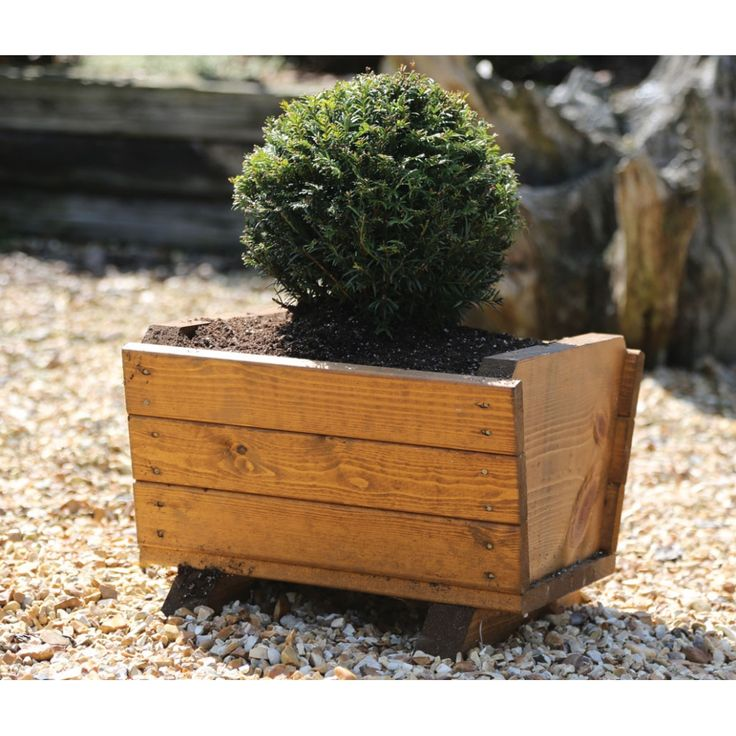 The 25 best wooden trough planters ideas on pinterest for Alternative planters