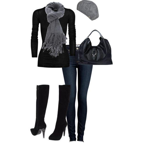 Black and Grey #fashion