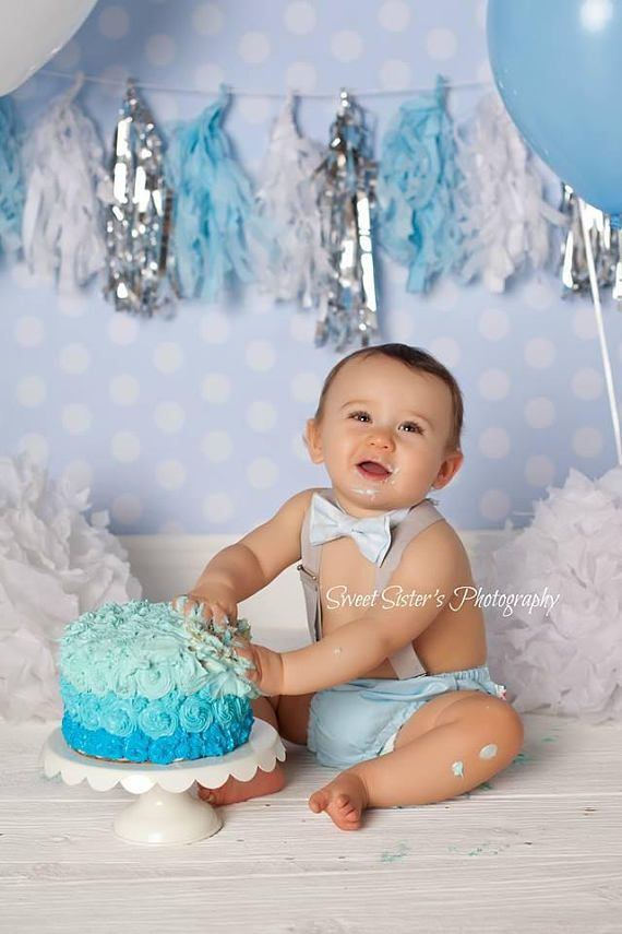 first birthday invitation for my son%0A Winter cake smash outfit boy christmas  st birthday boy