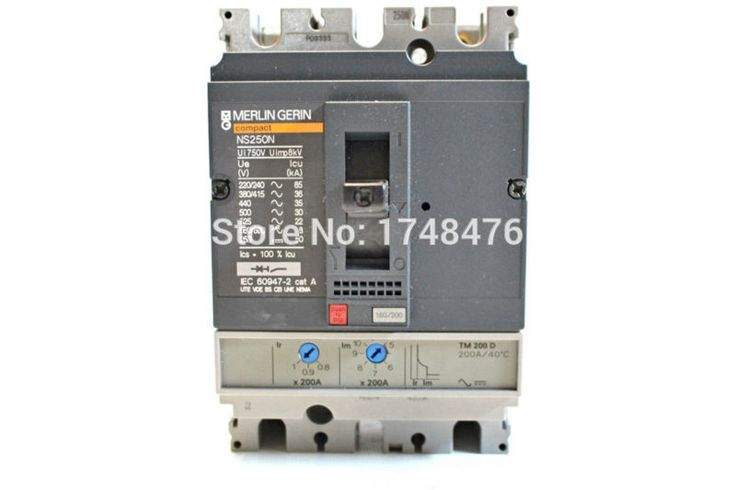 New 31714 Circuit Breaker Compact Ns250l Tmd 100 A 3 Poles 3d Cool Things To Buy Breakers Circuit