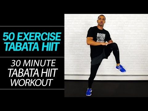 30 Minute Rapid Fat Burning Tabata HIIT Workout - 50 Exercises No Equipment Home Workout - YouTube