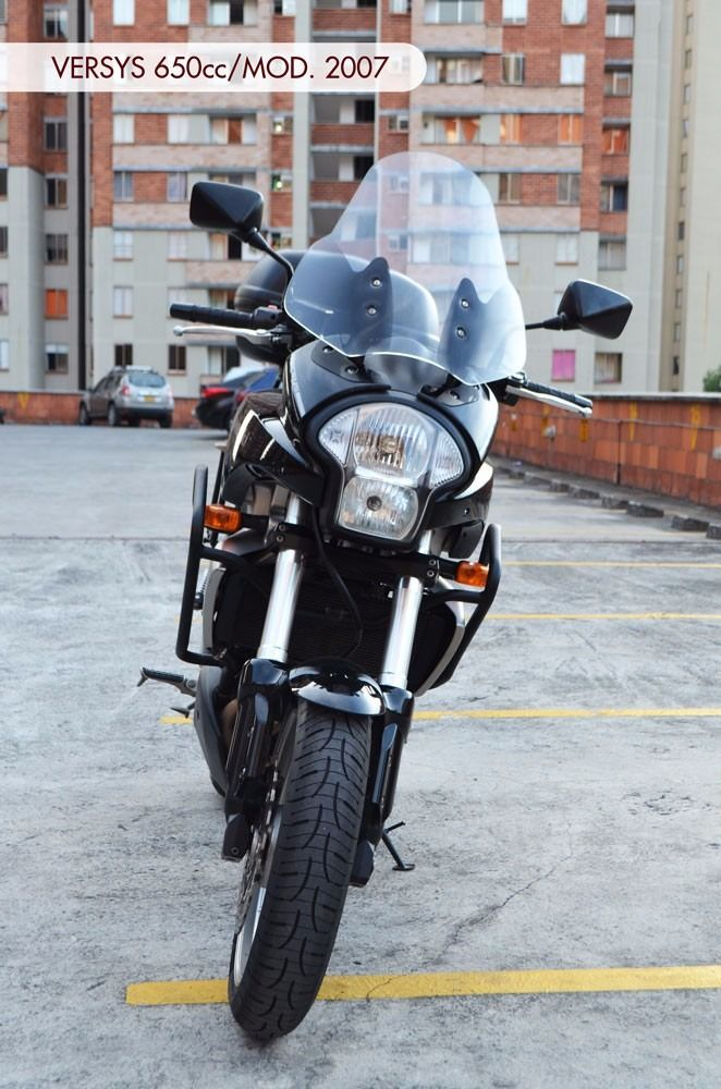 kawasaky versys 650cc