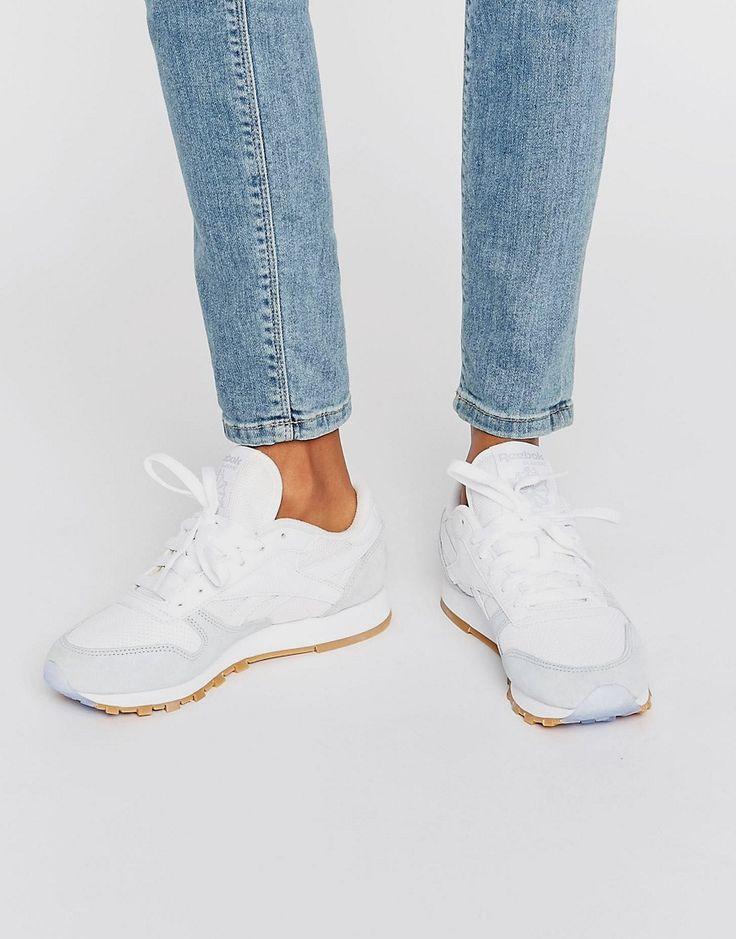 Bild 1 von Reebok – X Kendrick Lamar – Klassische Sneakers aus weißem Leder
