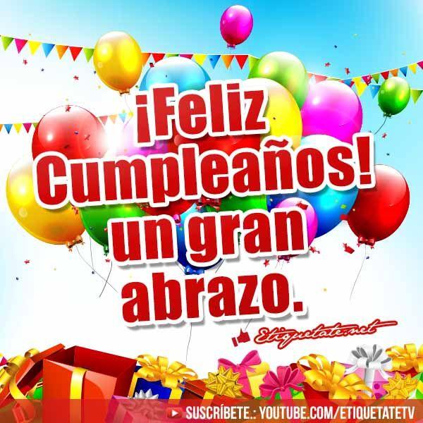 Imagenes con Frases de Cumpleaños VER EN ░▒▓██► http://etiquetate.net/category/cumpleanos/imagenes-con-frases-de-cumpleanos/
