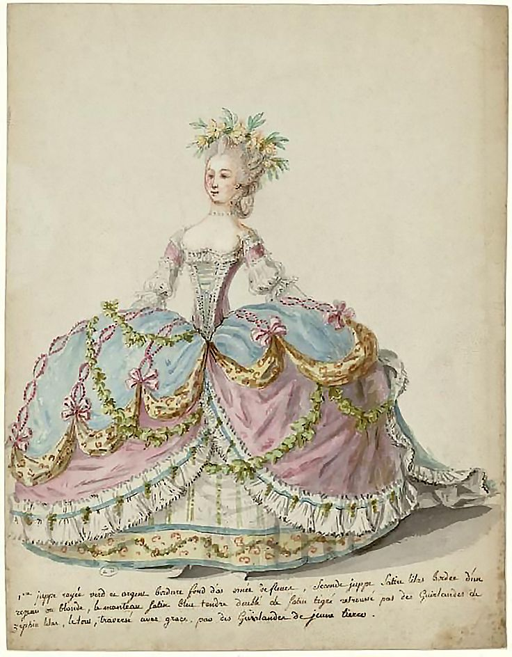 Картинки стиль рококо в одежде