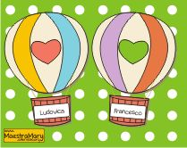 mongolfiere porta nome accoglienza scuola