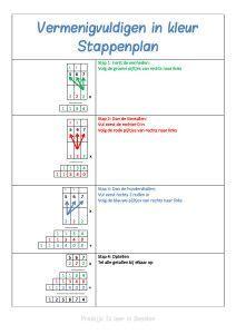 Beelddenkers hebben vaak moeite met  het maken van grote vermenigvuldigingen. Op deze handige manier leren ze de logica te zien! Je werkt met kleuren en pijltjes, en van rechts naar links. Doordat je de informatie kadert en een vaste plek geeft pakken kinderen het snel op.     Download: Vermenigvuldigen in kleur (het document bevat …