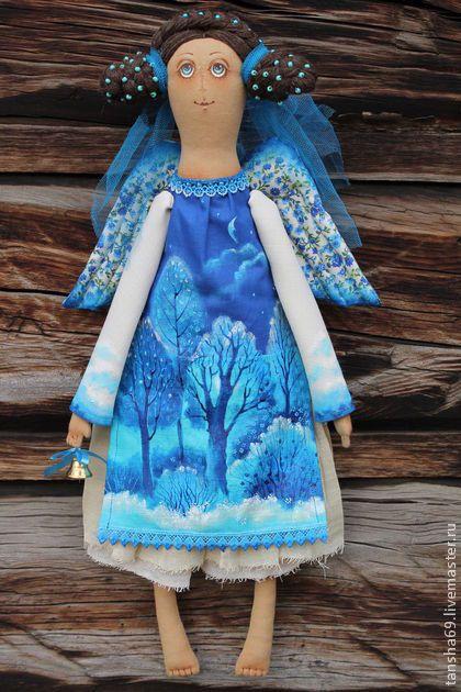 Коллекционные куклы ручной работы. Утро туманное.... Татьяна Козырева. Ярмарка Мастеров. Ароматизированная кукла, бусины