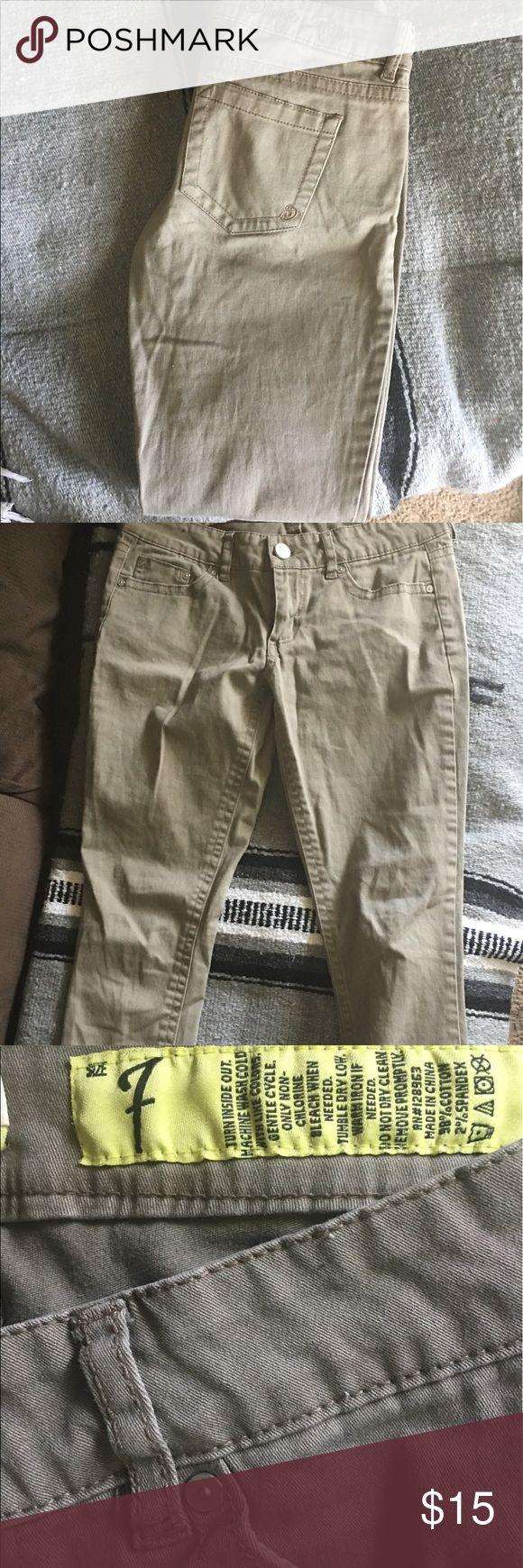 khaki skinny jeans olive/khaki skinny jeans Bullhead Jeans Skinny