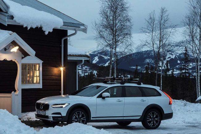 Hôtel de luxe en Suède et lancement de la Volvo V90 Cross Country