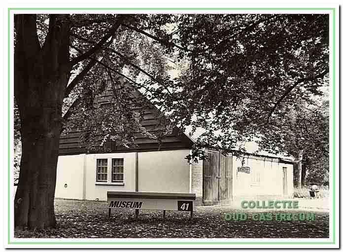 402071: Het museum van Duin en Bosch in de boerderij het Oude Huys, ook was hier het theehuis gevestigd en was het vlak na de oorlog het eerste onderkomen van de padvinders van de Bogeheimers