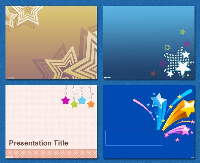 #PowerPoint #Templates - Stars