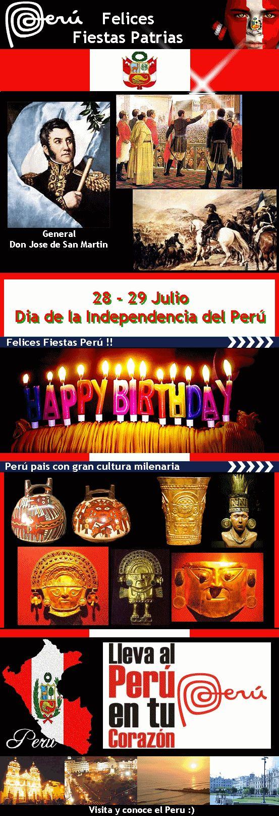 """"""" Felices Fiestas Patrias Perú """""""