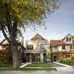"""Drew+Mandel+Architects+designs+Moore+Park++Residence+""""to+echo+the+rhythm+of+its+neighbours"""""""