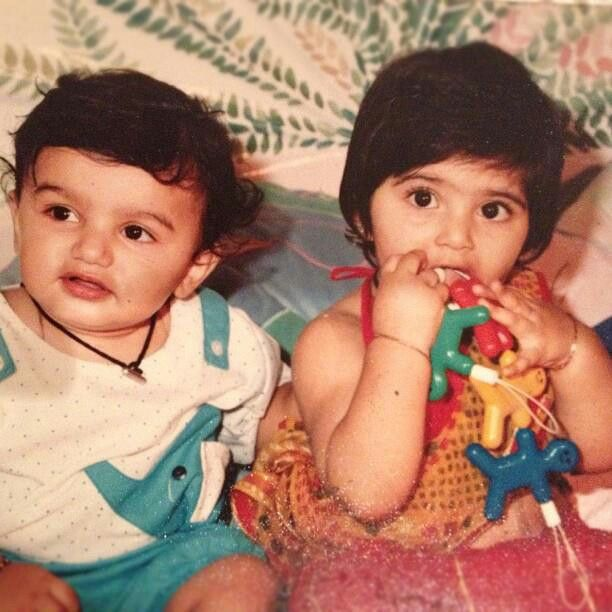 Sonam Kapoor Childhood Photos
