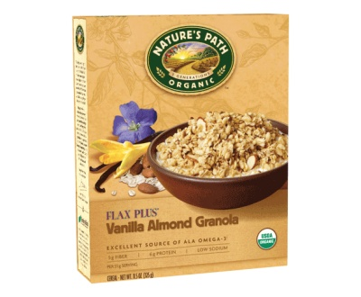 Our Products | Nature's Path Foods  Vanilla Almond Flax Plus® Granola  delicious 1/4c w/yogurt...yum!