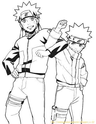 Aneka Gambar Mewarnai - 10 Gambar Mewarnai Naruto Untuk Anak PAUD dan TK.   Gambar berikut adalah ga...