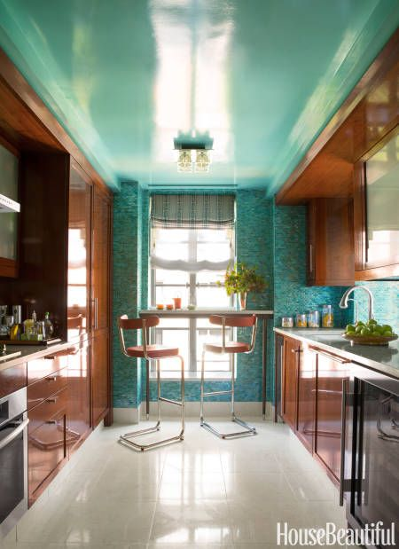 """Think Whimsical: """"Go straight to fantasyland. I'm thinking of trellis-covered walls, high-gloss lacquer ceilings, and graphic painted floors."""""""