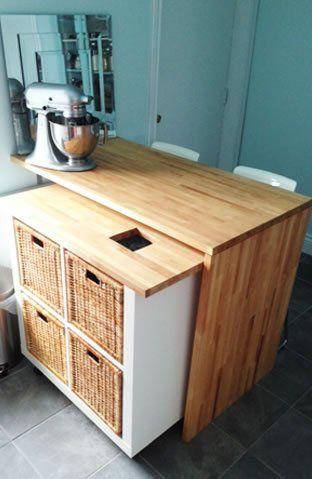 oltre 25 fantastiche idee su cucina isola su ruote su pinterest ... - Isola Da Cucina Ikea