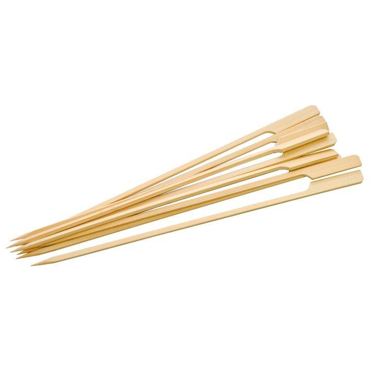 BBQ Buddy Flat Bamboo BBQ Skewers - 50 Pack